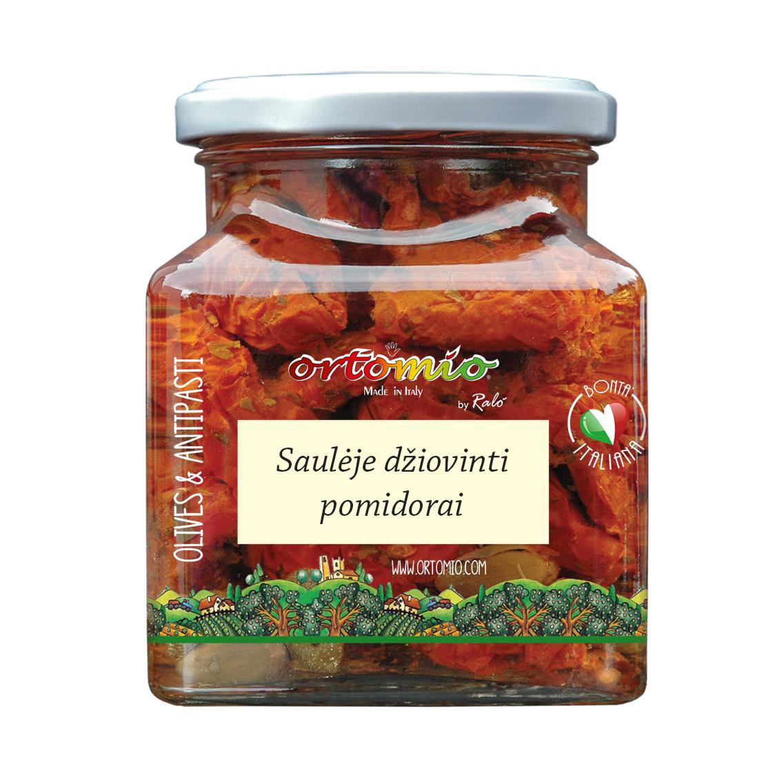 Saulėje džiovinti pomidorai 314ml