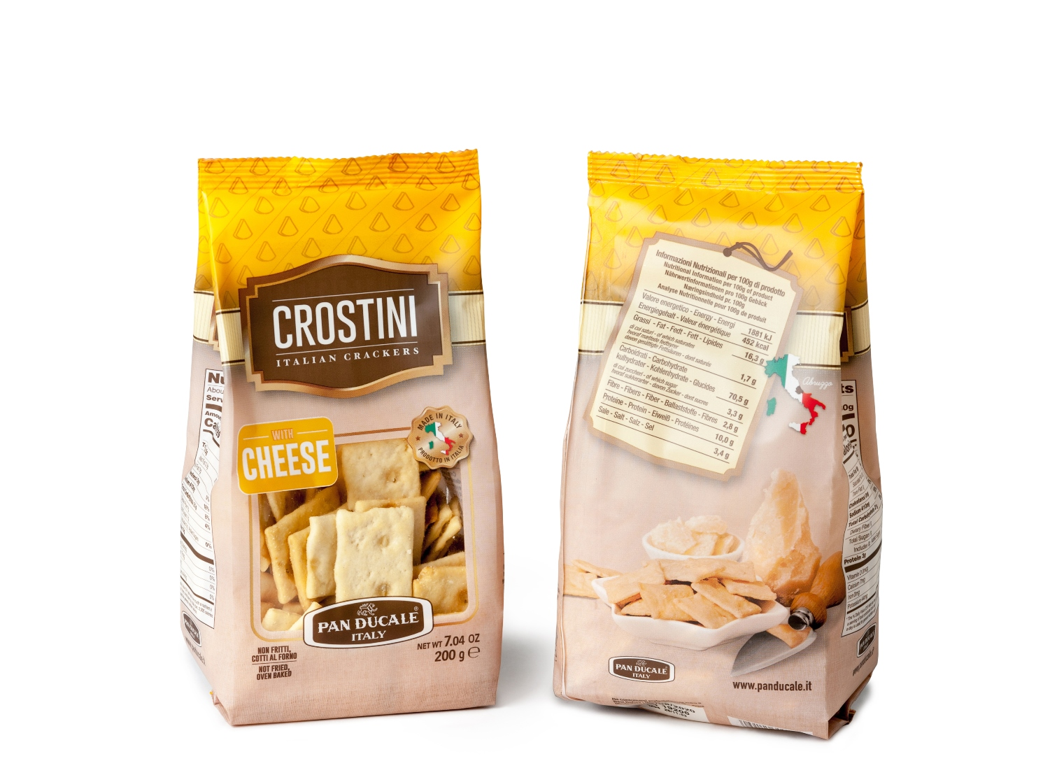 Crostini with CHEESE 200g