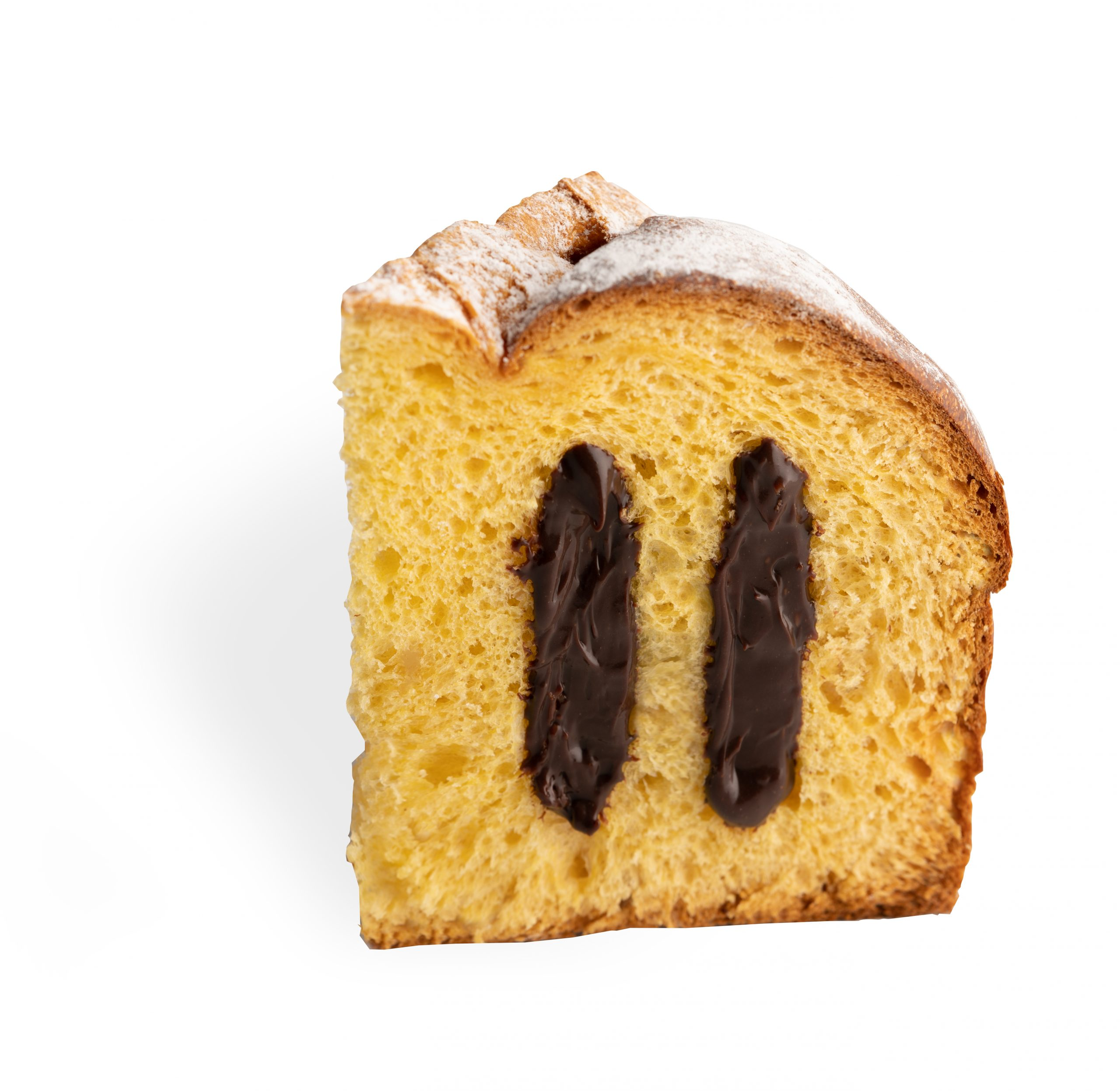 Pyragas Panettone SCARPATO su šokolado kremu 1kg.