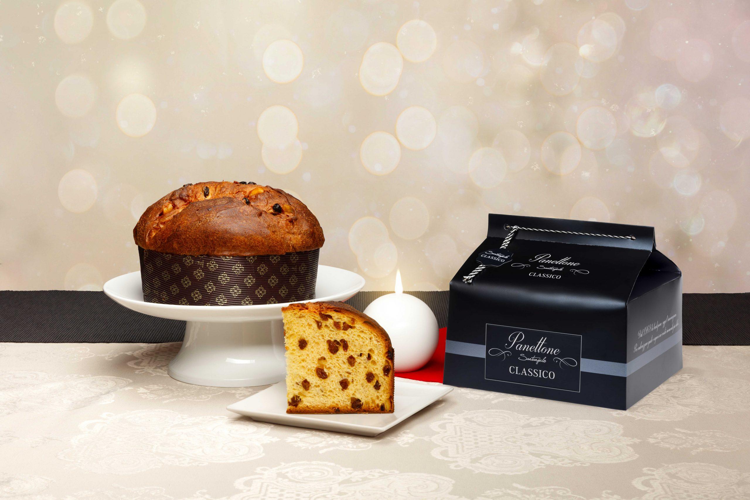 Pyragas Panettone SANTANGELO Classico j.dėž. 0,9kg